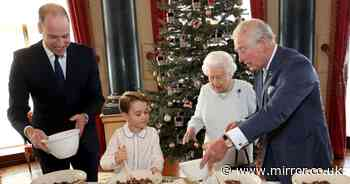Queen's chefs share Royal Family's recipe for traditional Christmas pudding