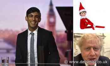 'I should take his credit card away': Economic hawk Rishi Sunak jokes about Boris Johnson's spending