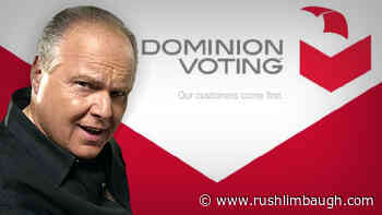 Dominion Fails to Appear at Pennsylvania Hearing - Rush Limbaugh