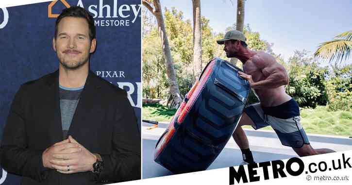 Chris Pratt begs Chris Hemsworth to stop working out as star shares incredibly ripped photo and we don't blame him