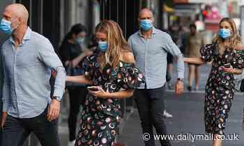 Rebecca Judd and AFL star husband Chris on dinner date