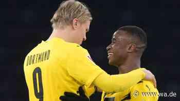 Moukoko lässt Haaland schwärmen: Norweger hat großen Wunsch - BVB-Legende erkennt entscheidendes  Attribut