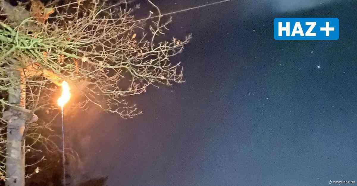 Stromausfall Isernhagen: Feuerwehr löscht Stromleitung in Neuwarmbüchen - Hannoversche Allgemeine