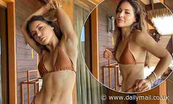 Louise Thompson declares she doesn't need to upload 'super lean' images to prove she's 'worthy'