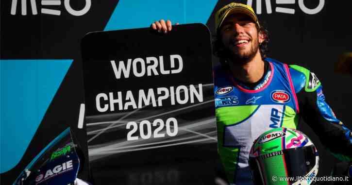 """Enea Bastianini è il campione del mondo di Moto2. """"Un giorno che ricorderò per sempre"""""""