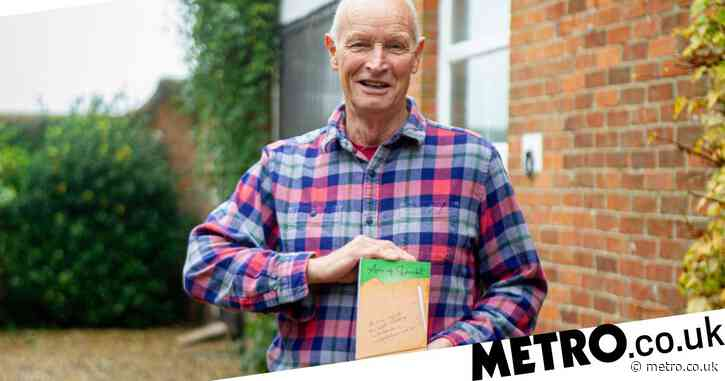Dyslexic pensioner writes entire book on his phone using one finger