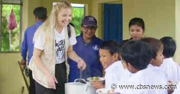 Kate Hudson on being a World Food Programme ambassador