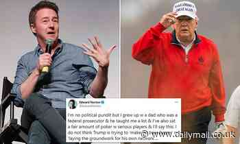 Edward Norton slams Donald Trump in Twitter tirade