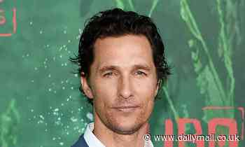 Matthew McConaughey wears a HEADLAMP while clipping his toenails and has eaten pickled pig's feet