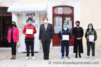Llama alcalde de Huamantla a servidores públicos a redoblar esfuerzos para los próximos meses de administración. - Linea de Contraste