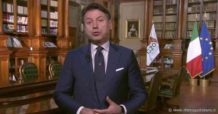 """G20, Conte alla vigilia della presidenza italiana: """"Nessun paese può vincere da solo. Risposta alla pandemia in cima alla nostra agenda"""""""