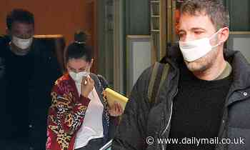 Ben Affleck and Ana de Armas wake early to head to re-shoot Deep Water in New Orleans