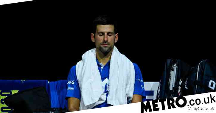 Andy Murray reacts to Novak Djokovic's ATP Finals defeat to Dominic Thiem