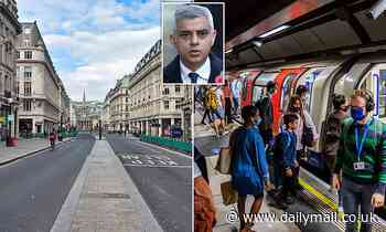 Sadiq Khan warns Covid pandemic has created an 'existential threat' to central London