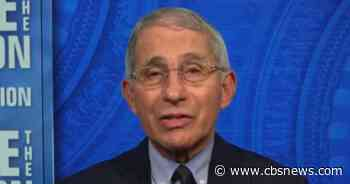 """Transcript: Anthony Fauci on """"Face the Nation"""""""