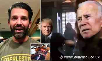 Covid positive Trump Jr spends quarantine trolling dems