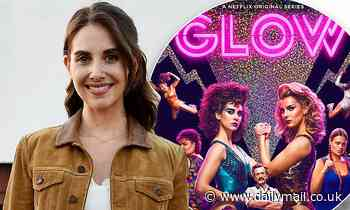 Alison Brie tells fans she'd love to do a GLOW movie but 'don't hold your breath' for something soon