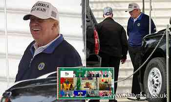 Trump leaves second day of virtual G20 early to head to golf course