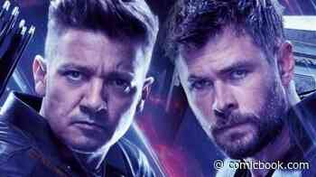 Jeremy Renner Tries to Make Case For Why Avengers' Co-Star Chris Hemsworth Should Have Been 2020's Sexiest Man Alive - ComicBook.com