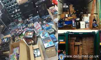 Police seize half a MILLION pounds worth of stolen toys including Marvel and Star Wars memorabilia