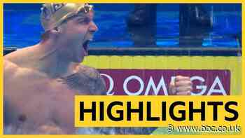 International Swimming League: Caeleb Dressel sets new world records in 100m butterfly & 50m freestyle