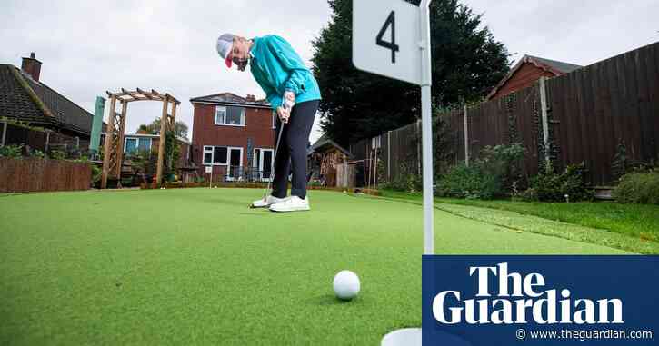 Calligraphy to garden golf: how UK crafted its way through lockdown