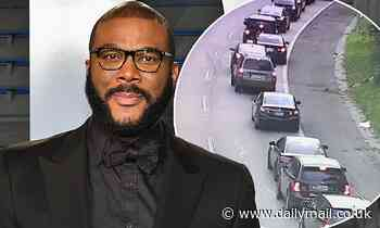 Tyler Perry helps out those in need by donating Thanksgiving food for 5,000 families in Atlanta