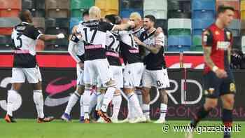 Udinese-Genoa 1-0: gol di De Paul