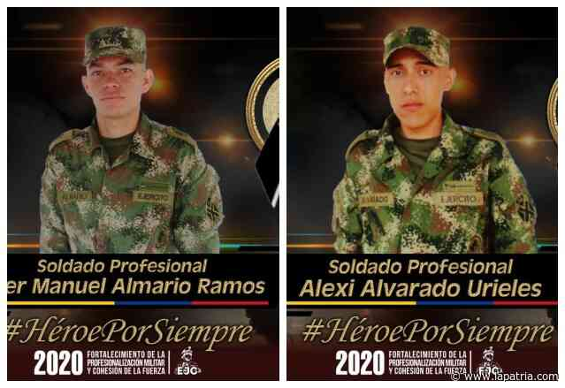 Un ataque armado en Tibú (Norte de Santander) deja dos soldados muertos - La Patria.com