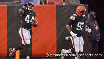 Browns take 7-0 lead into halftime