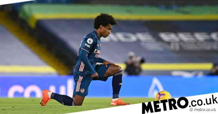 Mikel Arteta explains why he subbed off Willian at half-time during Arsenal's draw with Leeds United