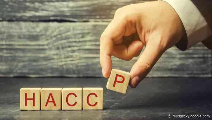 HACCP tops demand in EU training program