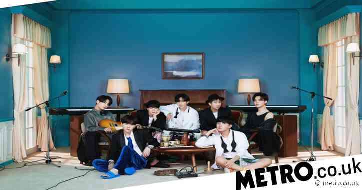 BTS challenge Ariana Grande on UK charts for first number one with Life Goes On