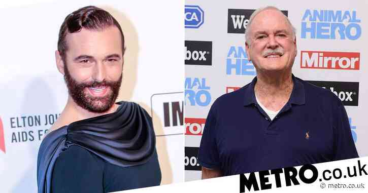 Queer Eye star Jonathan Van Ness hits out at John Cleese for saying he identifies as 'Cambodian police woman' in JK Rowling defence