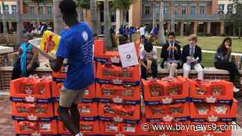 Jesuit High School Students Raise Thousands To Feed The Hungry For The Holidays