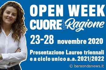 Dal 23 al 28 novembre 2020 Open Week all'Università Cattolica del Sacro Cuore - BaraondaNews