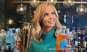 Amanda Holden shows off stunning home bar