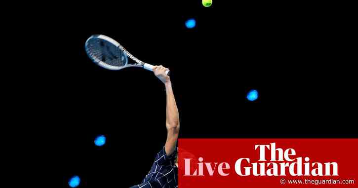 Dominic Thiem v Daniil Medvedev: ATP Tour Finals final – live!