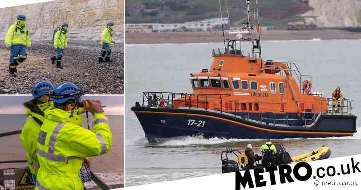 Coastguard calls off search for two fisherman missing after their boat sank