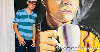 Darwin Delgado: murales por la paz en San Calixto, Norte de Santander - Radio Nacional de Colombia