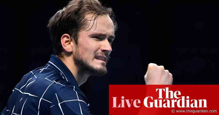 Daniil Medvedev beats Dominic Thiem to win ATP Tour Finals title – live!