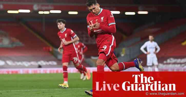 Liverpool 3-0 Leicester City: Premier League – as it happened