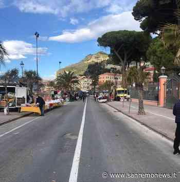 """Ventimiglia: il mercato del venerdì è deserto tra lo sconforto dei commercianti """"Una scena da fantascienza, siamo al capolinea"""" (Foto) - SanremoNews.it"""