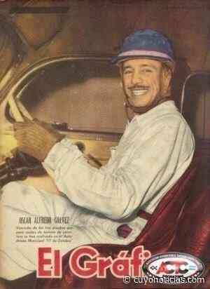 Oscar Galvez el piloto con publicidad en su auto antes que naciera la Fórmula 1 - Cuyonoticias