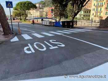 Recco, lavori di rifacimento della segnaletica stradale - Liguria Notizie