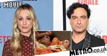 The Big Bang Theory's Kaley Cuoco on sex scenes with ex Johnny Galecki - Metro.co.uk