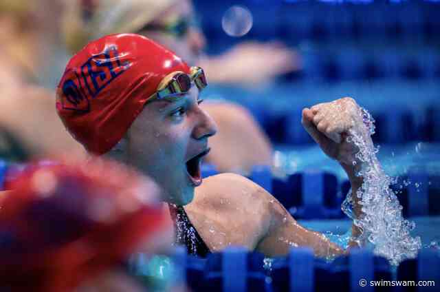 Maddy Banic Closes Breakout ISL Season By Lowering American Record In 50 Fly