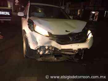 Fuerte choque en el Centro de Torreón deja mujer lesionada - El Siglo de Torreón