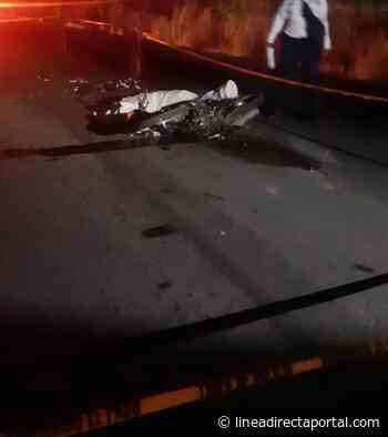 Muere motociclista tras ser embestido en El Fuerte - Linea Directa
