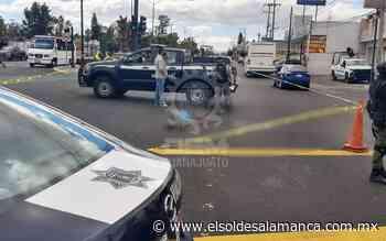 Arrollan a hombre de 60 años en Av. Valle de Santiago - El Sol de Salamanca